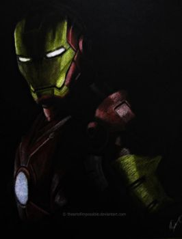 Iron Man by theartofimpossible