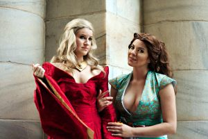 Game of Thrones cosplay - Cersei, Margaery Tyrell by Kapalaka