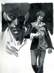 Dylan Dog Illustrazione inedita by ChristopherPossenti
