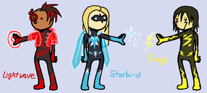 Superhero designs n stuff by SailorQuaoar
