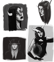 Sketches by TanishaHeaven