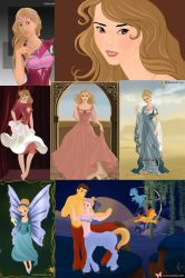 The Many Faces Of Cinderella by ZeldaQueen64