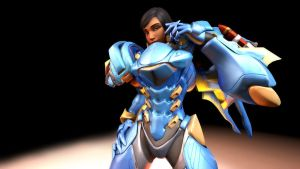 [SFM] The actual Pharah by Wonster-chan