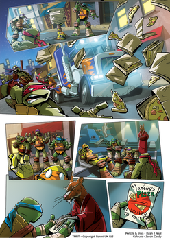 TMNT - Takeout Page 6 by ryanneal