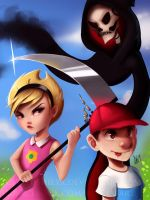The Grim Adventures of Billy and Mandy by Lushies-Art