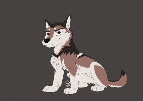 Dimitri Wolf Pup by Shadowphoenix21