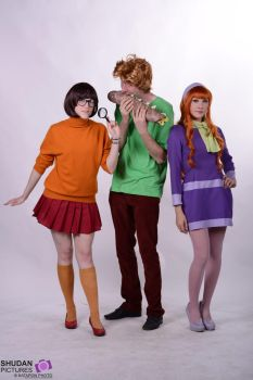 Scooby doo team ~ by Lilouchann