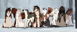 WoLF | The Gang by Azaleya