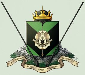 King Mortspear's Coat of Arms by YasminFoster