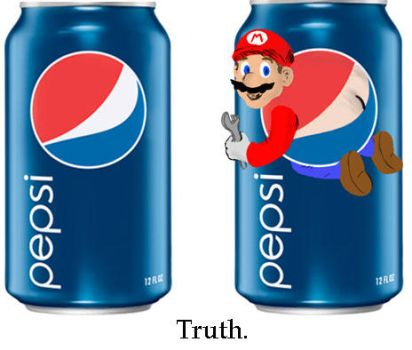 Mario Pepsi by softendo