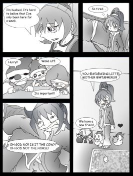 Harvest Moon Mini comic one by Bunnygirle26
