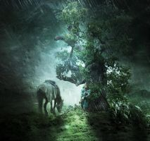 The Rain by Madink2000