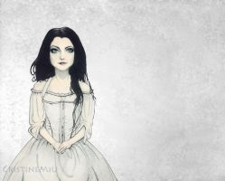 Amylee Drawing from Evanescence by CristineMiu
