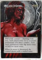 Magic Alteration: Council's Judgement by Ondal-the-Fool