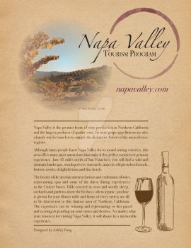 Napa Valley flyer by ashley-f