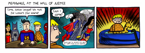 TTFTV- Meanwhile at the Hall of Justice by trivialtales
