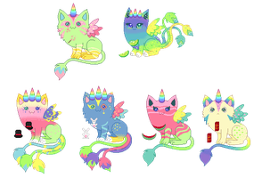 Breeding Batch-Magic and Limeade -CLOSED- by StarryKnightPixie