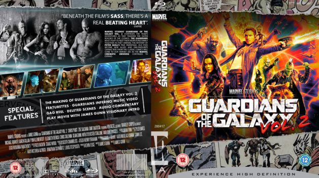GUARDIANS OF THE GALAXY VOL 2. Blu-Ray by MrPacinoHead