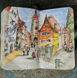 Rothenburg by Bohomouse