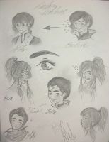 LoK sketches by Ale-L