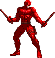Daredevil KOF XIII style by Riklaionel