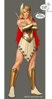 she-ra...iiis not impressed...im on a roll here by nebezial