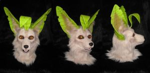 Leafeon Mask Auction - Relisted by MaewynShadowtail