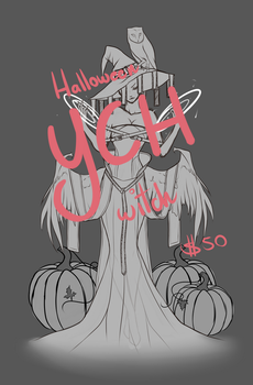 Halloween Witch YCH [CLOSED] by Phaux-Adopts