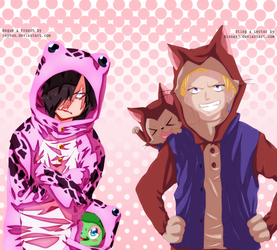 Sting, Lector and Rogue, Frosch Collab by AlexanJ
