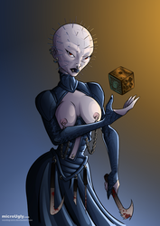 She Pinhead (colours) by microUgly