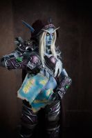 Sylvanas - Break of Azeroth by Narga-Lifestream