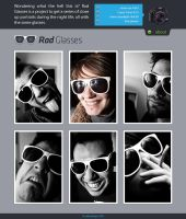 Rad Glasses Website Live by LeMex