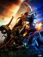 ISCARIOT AND DARKSEID by ISIKOL