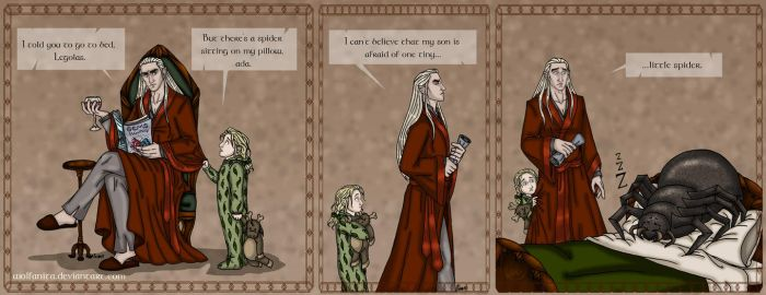 The Hobbit: Daddy! Part Four: Childish Fears by wolfanita