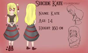 Creepypasta: Suicide Kate Reference sheet by Flamme2
