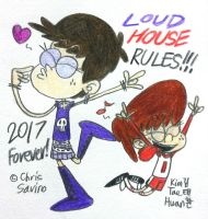 Loud House Rules!!! by komi114
