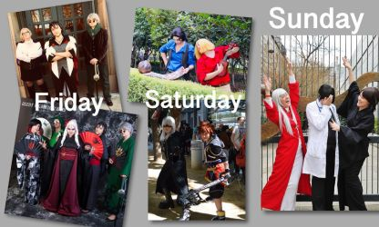 SacAnime Summer 2018 Cosplans by BaconFlavoredCosplay