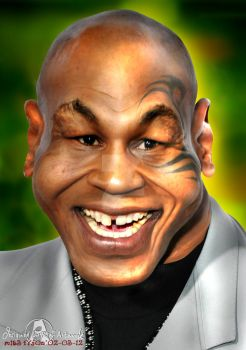 Mike Tyson by noedieartwork
