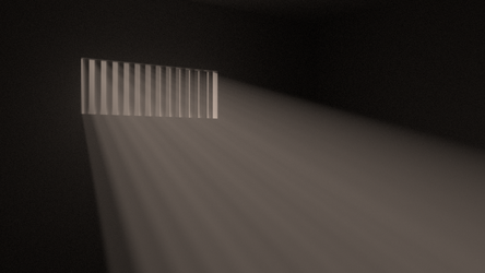 (Realistic) Volumetric Lighting by dexter-roderick