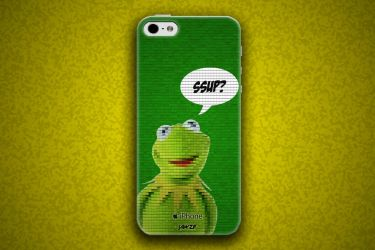 iPhone 5/5S/5C Kermit The Frog Case by jawzf