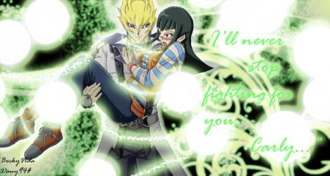 YGO 5ds - Scoopshipping - JackxCarly by BeckyVida