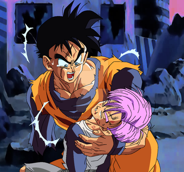 Dragon Ball Z: A Different Future (My Palette) by Anorkius-TheNERX
