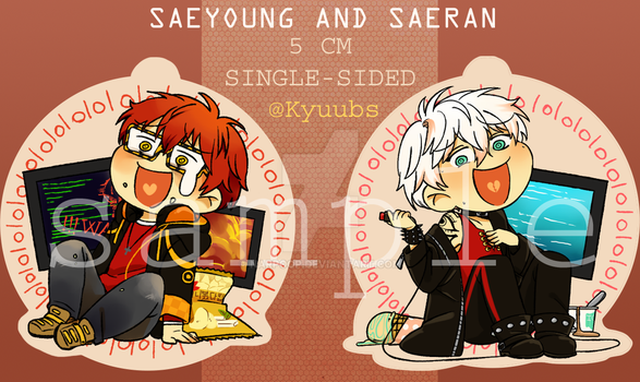 [Pre-order] Mystic Messenger Charms by narpoop