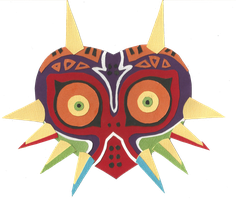 Majoras Mask Papercraft by Eternalsonicstar