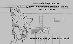 Bribe Factory by W0lfmare