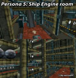 Persona 5: Ship Engine Room [XPS] (DL) by NecroCainALX