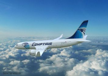 EgyptAir 3d Airplane 03 by osmanassem