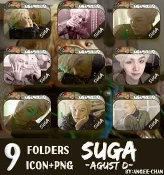FOLDERS DE -SUGA-AGUST D by ANGEE-CHANN