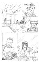 X-Men Page 2 by Ari-Spike-Nadelman