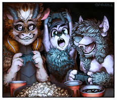 Game Night by Pyrubble